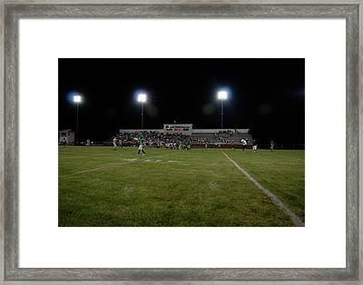 Friday Night Lights Framed Print
