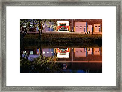 Friday Nights Framed Print by JC Findley