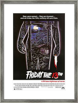 Friday The 13th, 1980 Framed Print