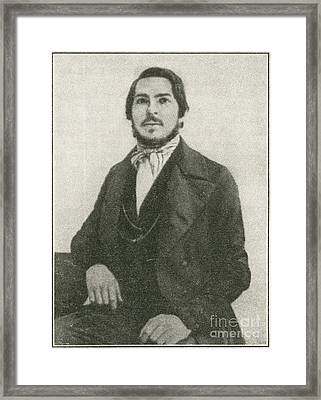 Friedrich Engels, German Philosopher Framed Print