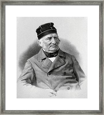 Friedrich Struve, German Astronomer Framed Print