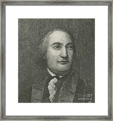 Friedrich Wilhelm Von Steuben Framed Print by Photo Researchers