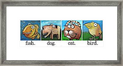 Friendly Four Poster Framed Print by Tim Nyberg