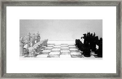 Friendly Game Framed Print by Kevin D Davis