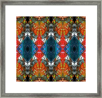 Friendly User Interface Framed Print by Laura Fedora