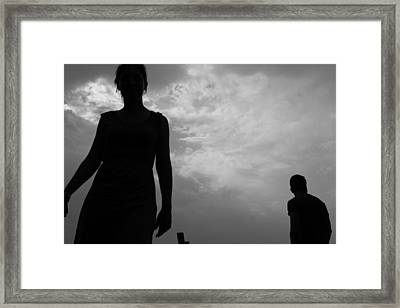 Friends Framed Print by Nina Mirhabibi