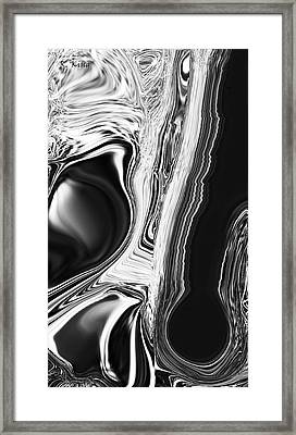 Framed Print featuring the digital art Friends by Roena King