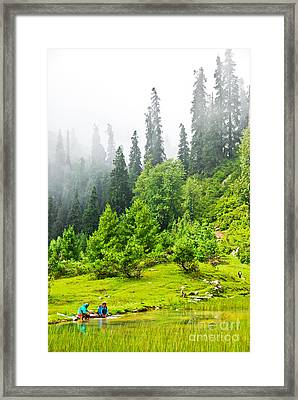 Friends Together Framed Print by Syed Aqueel