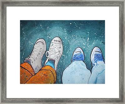 Friendship Framed Print by Jan Farthing