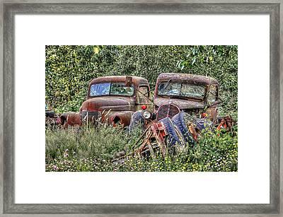 Friendship Last Forever Framed Print by Sarai Rachel