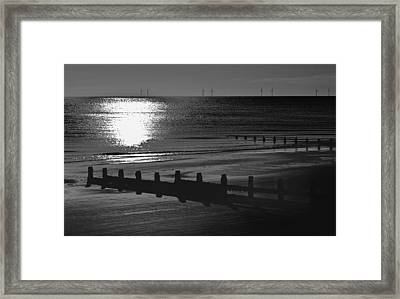 Frinton-on-sea Framed Print by Darren Burroughs