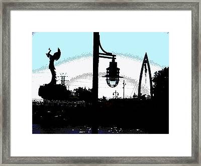 From A Distance Framed Print by David Alvarez