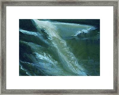 From Darkness To Light Framed Print by Anil Nene