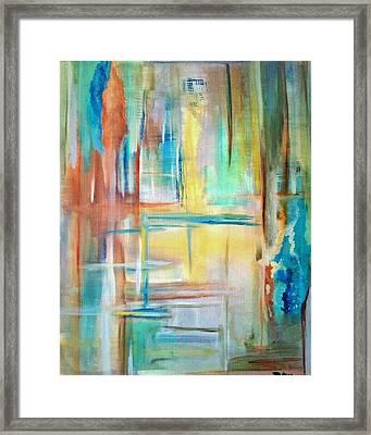 From Dusk To Dawn Framed Print by Derya  Aktas