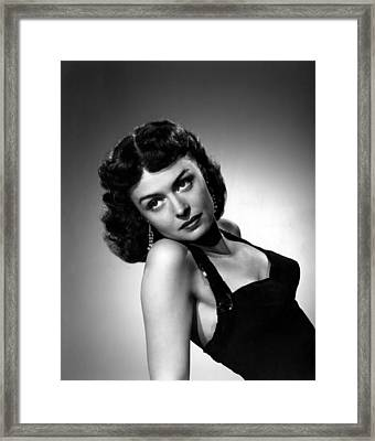 From Here To Eternity, Donna Reed, 1953 Framed Print