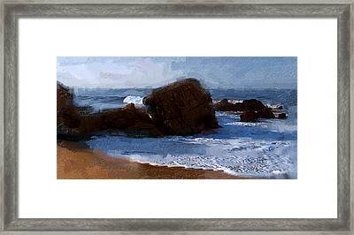 From Here To Eternity Framed Print by Ron Regalado