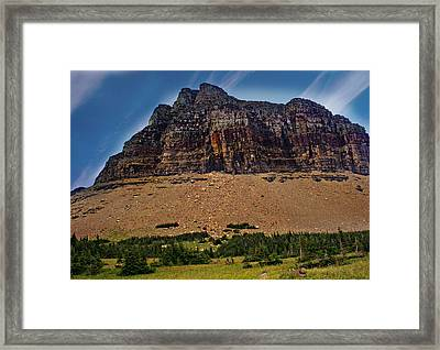 From Logan Pass Framed Print by Marty Koch