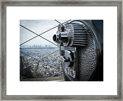 From Observation Deck. Framed Print