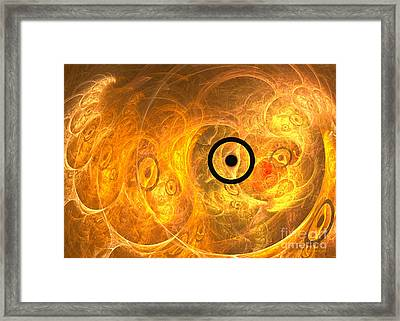 From Phase To Face Framed Print by Sipo Liimatainen
