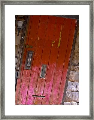 From The Alley Framed Print by DigiArt Diaries by Vicky B Fuller