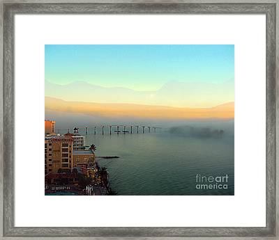 From The Balcony Framed Print