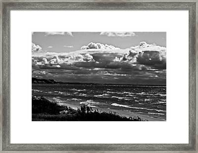 From The Beach Framed Print