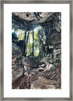From The Cave Framed Print by MotHaiBaPhoto Prints