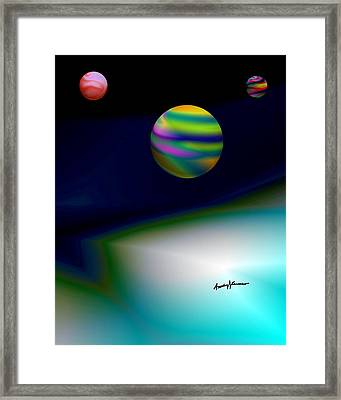 From The Darkside Framed Print by Anthony Caruso