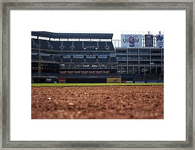 From The Dugout Framed Print by Malania Hammer