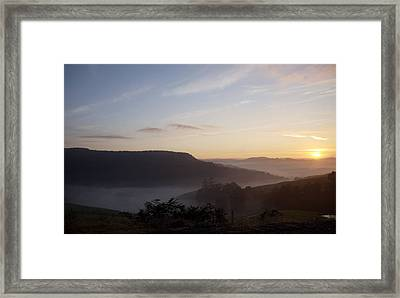 From The East Framed Print by Lee Stickels