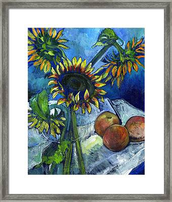 From The Farmer's Market Framed Print by Carol Mangano