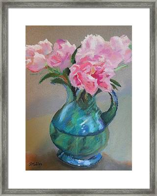 From The Garden Framed Print by Sylvia Miller