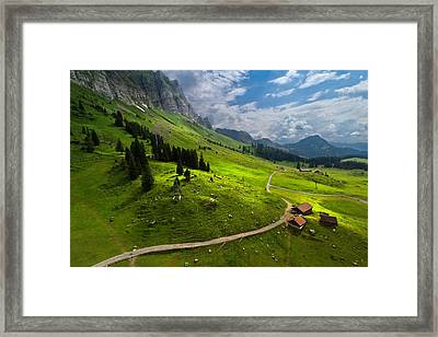 From The Gondola Framed Print