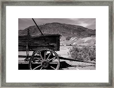 From The Good Old Days Framed Print