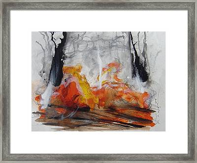 from The Great Divide Framed Print by Rj Williams