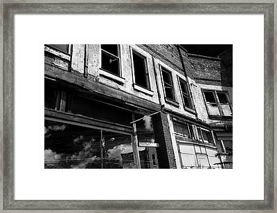 From The Inside Framed Print