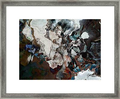 From The Ocean Floor Framed Print