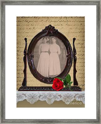 From The Past Framed Print by Betty LaRue