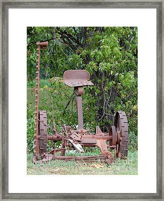 From The Past Framed Print by Jack R Brock