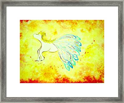 From The Promised Land  Framed Print by Asida Cheng