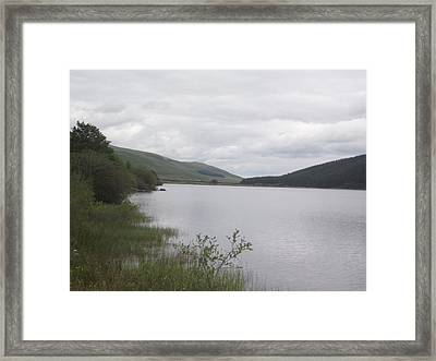 From The Shoreline Of St Marys Loch Framed Print