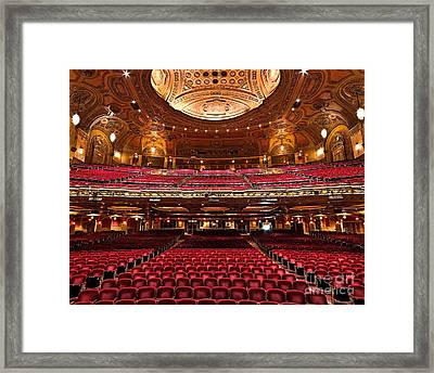 From The Stage Framed Print