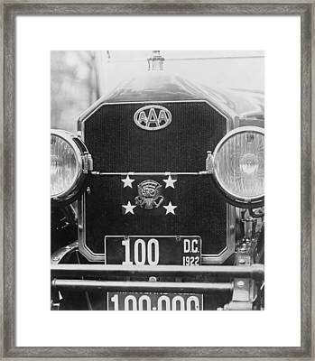 Front Grill, Bumpers, And Headlights Framed Print by Everett