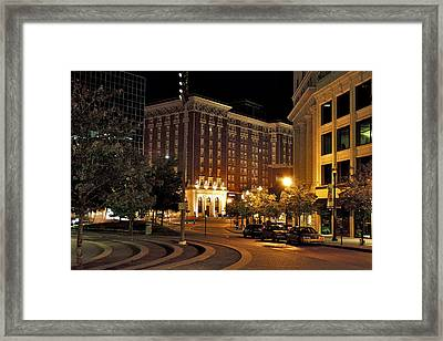 Front Of The Amway Grand Plaza Framed Print by Richard Gregurich