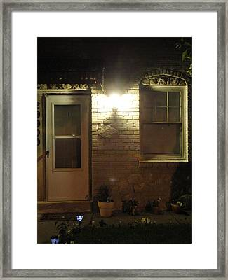 Front Of The Home Front Framed Print by Guy Ricketts