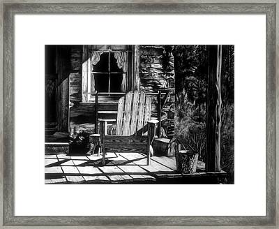 Front Porch Framed Print by Jerry Winick