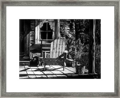 Front Porch Framed Print