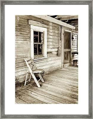 Front Porch Framed Print by Patrick M Lynch