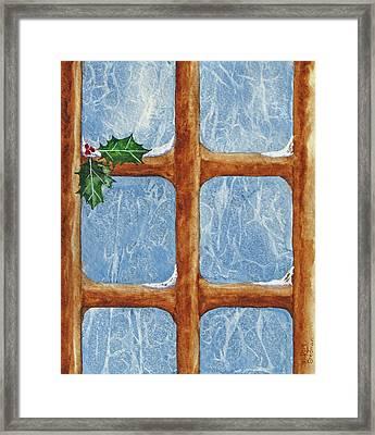 Frost By Jack Framed Print