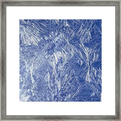 Frost Framed Print by Siede Preis